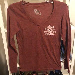 Philadelphia Phillies V-neck Shirt